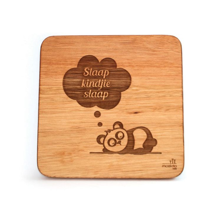 Wooden Wall Art_Slaap Kindjie - Walls & Stickers - Baby Belle