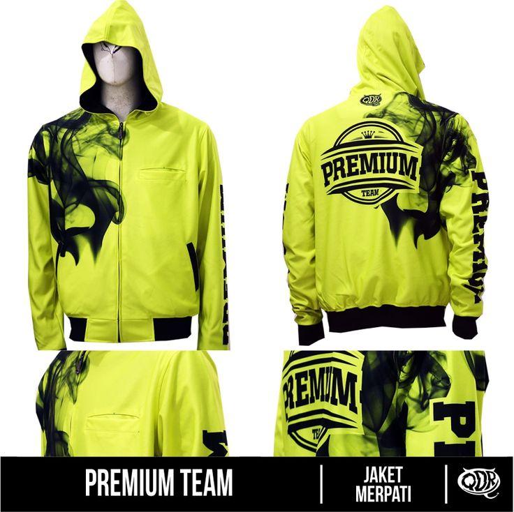 Premium Team (Jaket Merpati) Bahan: Dry-fit printing: sublimasi untuk pemesanan: BBM D5443117 Qdr online shop WA/LINE 081222970120