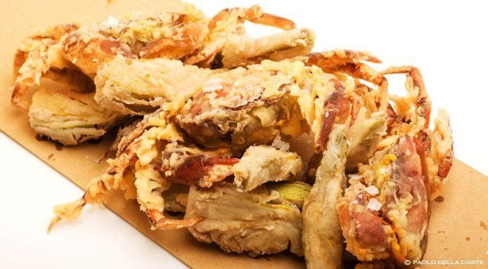 Moeche e mesanete fritte