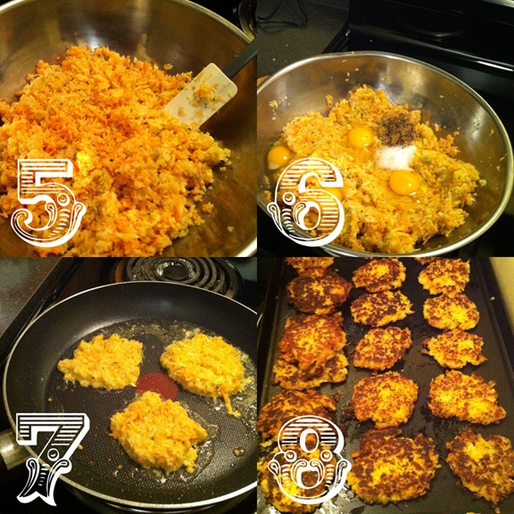 Root Vegetable and Zucchini Latkes | Foodie | Pinterest