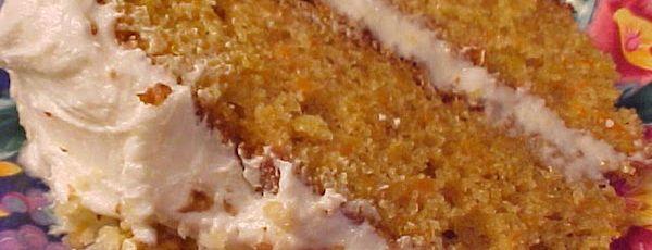 Gâteau aux Carottes et au Sirop D'érable, Glaçage Crémeux au Sirop D'érable