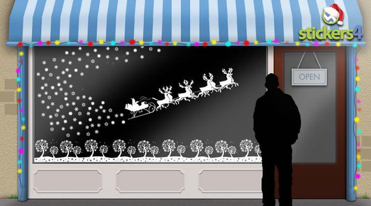Best 25 Christmas Window Stickers Ideas On Pinterest