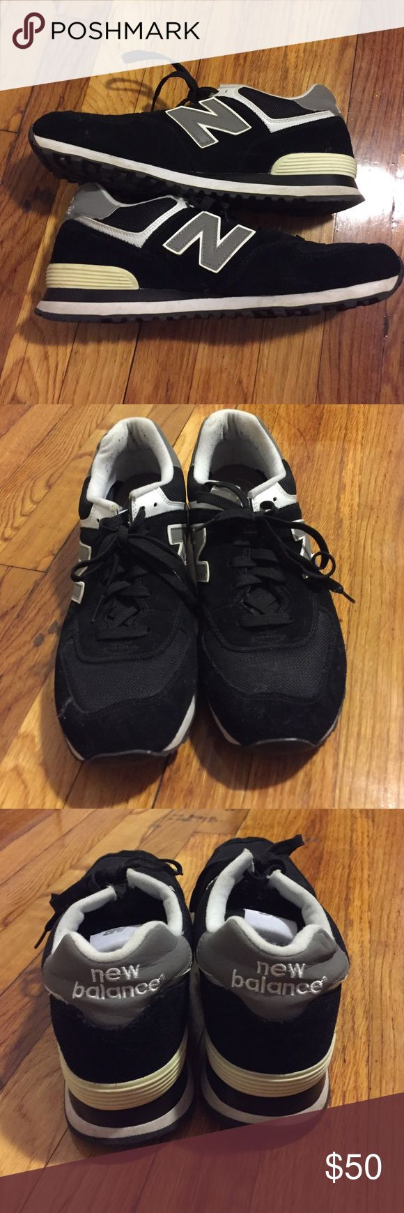 Men's New Balance 574 Classic Shoes Men's New Balance 574 Classic Shoes size 12. Excellent used condition. Only worn a few times just the outside is a little dirty but can be easily cleaned. Does not come with box. No trades please! New Balance Shoes