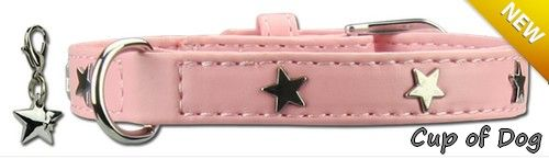 Collier chien Twinkle Little Star Pink https://www.cupofdog.fr/collier-harnais-chihuahua-petit-chien-xsl-243.html