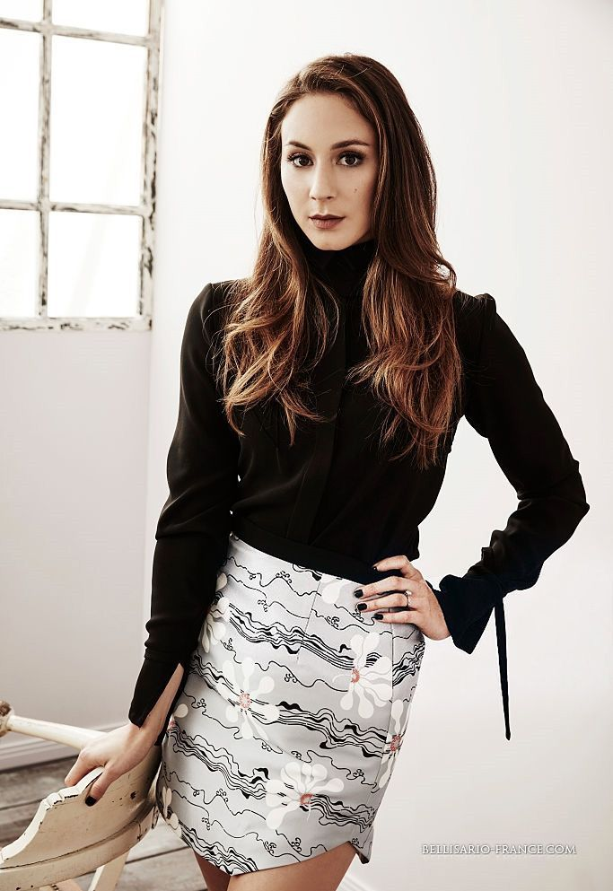 Troian Bellisario. My favorite caracter i just want to be like she.