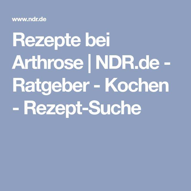 Rezepte bei Arthrose   NDR.de - Ratgeber - Kochen - Rezept-Suche