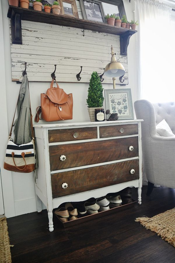 New Entryway Dresser -