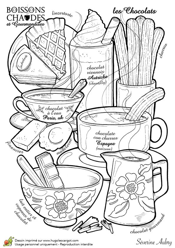 286 best COLORING ~food~ images on Pinterest | Coloring books ...