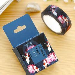 1 Unds/pack Tamaño 15 Mm * 10 m Estanque De Loto Diy Cintas Washi Cinta Adhesiva Decorativa Cintas Adhesivas en Cinta Adhesiva de la oficina de Oficina y escolares en AliExpress.com | Alibaba Group