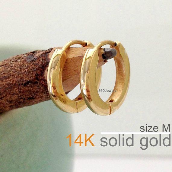 14k Gold Men S Earrings