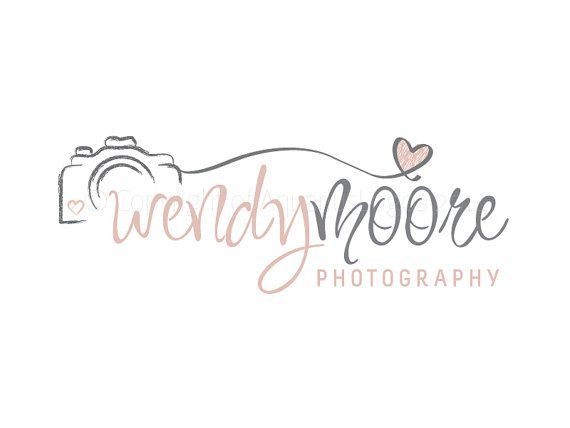 Premade Logo  Photography Logo  Logo Design  by AquariusLogos