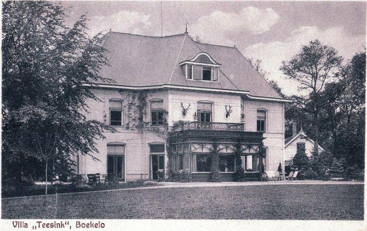 Boekelo, Villa Teesink. gesloopt ??? H.J.E. van Heek
