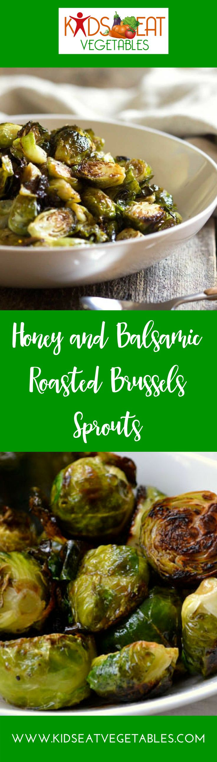 These Honey Balsamic Roasted Brussels Sprouts are not only beyond easy to prepare, but I guarantee they will be gone in no time so make plenty!   These Brussels sprouts are roasted in a high temperature oven until golden brown and crisp, then tossed with a touch of balsamic vinegar and honey. Make extra — they're as addictive as french fries but a lot more healthier!