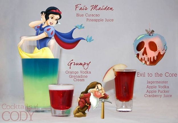 """""""Fair Maiden"""", """"Grumpy"""" and """"Evil to the Core"""" 