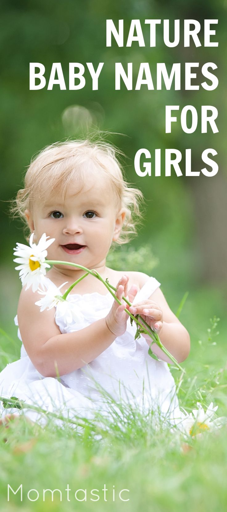 The cutest nature-inspired baby names for your little girl