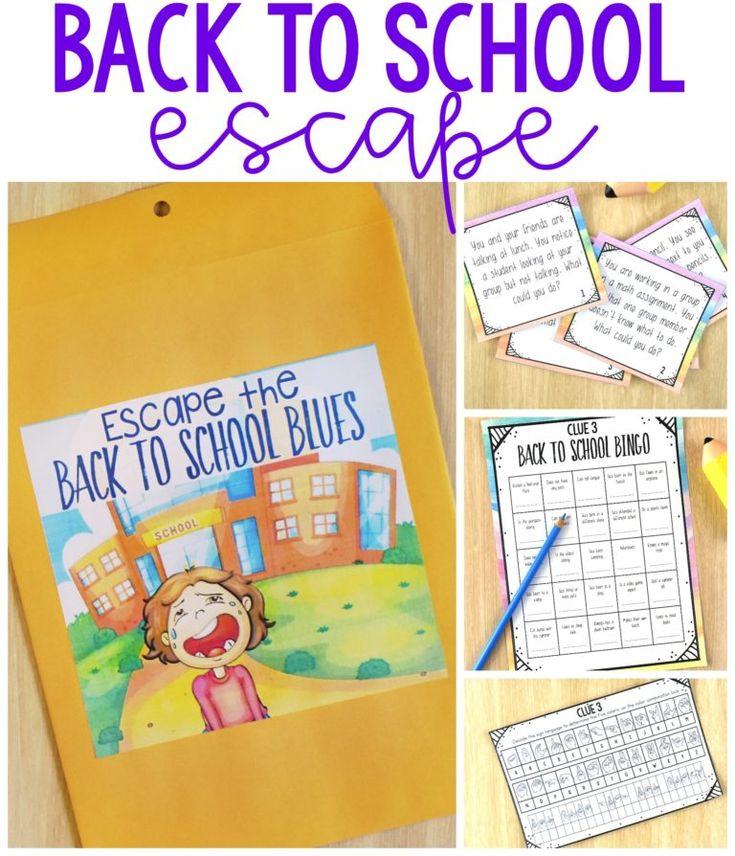 Back to School Breakout