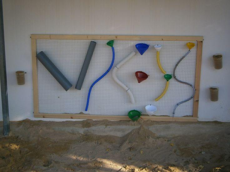 Panell d'experimentació per l' arener del pati de M.F