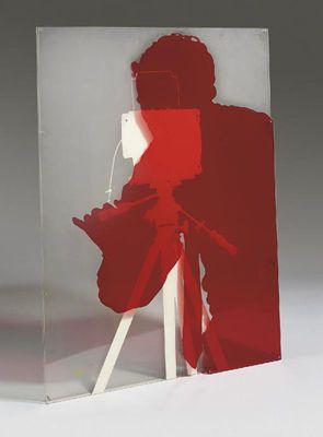 Cast Shadow of André Morain - Lourdes Castro - Conceptual Art