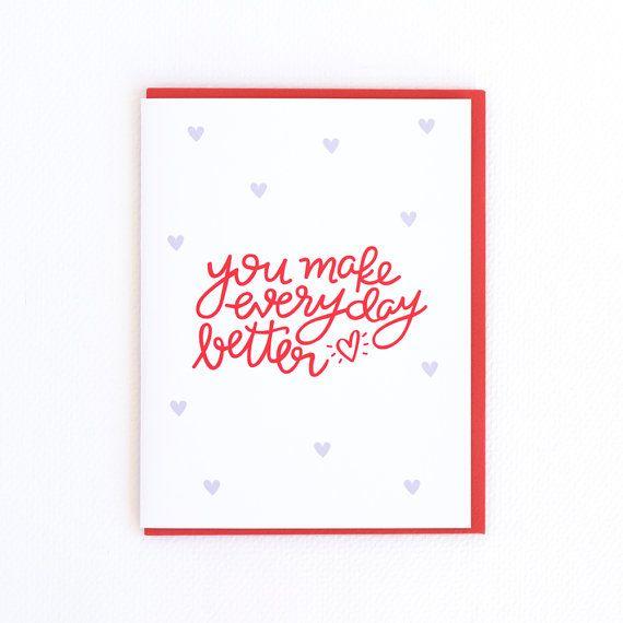 L'amour Saint Valentin carte, carte de la Saint-Valentin, Saint Valentin, carte, carte Vday amour, épouse Saint-Valentin, carte mari Valentines (no LOVE-02)