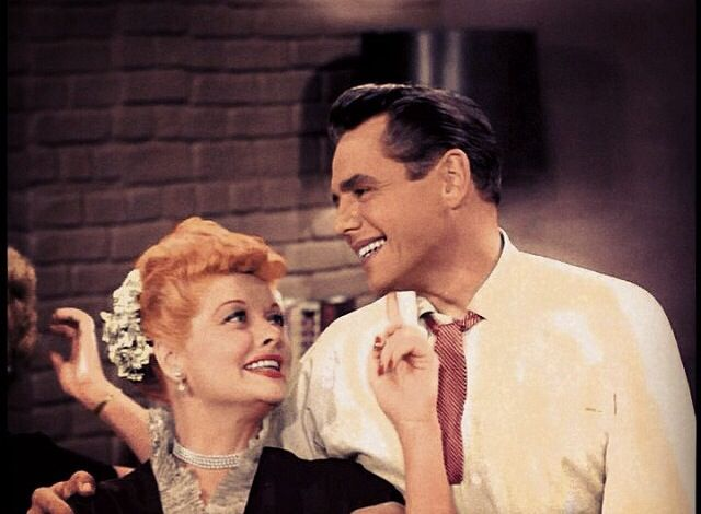 Lucy and Desi -they really did love each other. She just couldn't stand him cheating on her. If not for that, they may have stayed together.