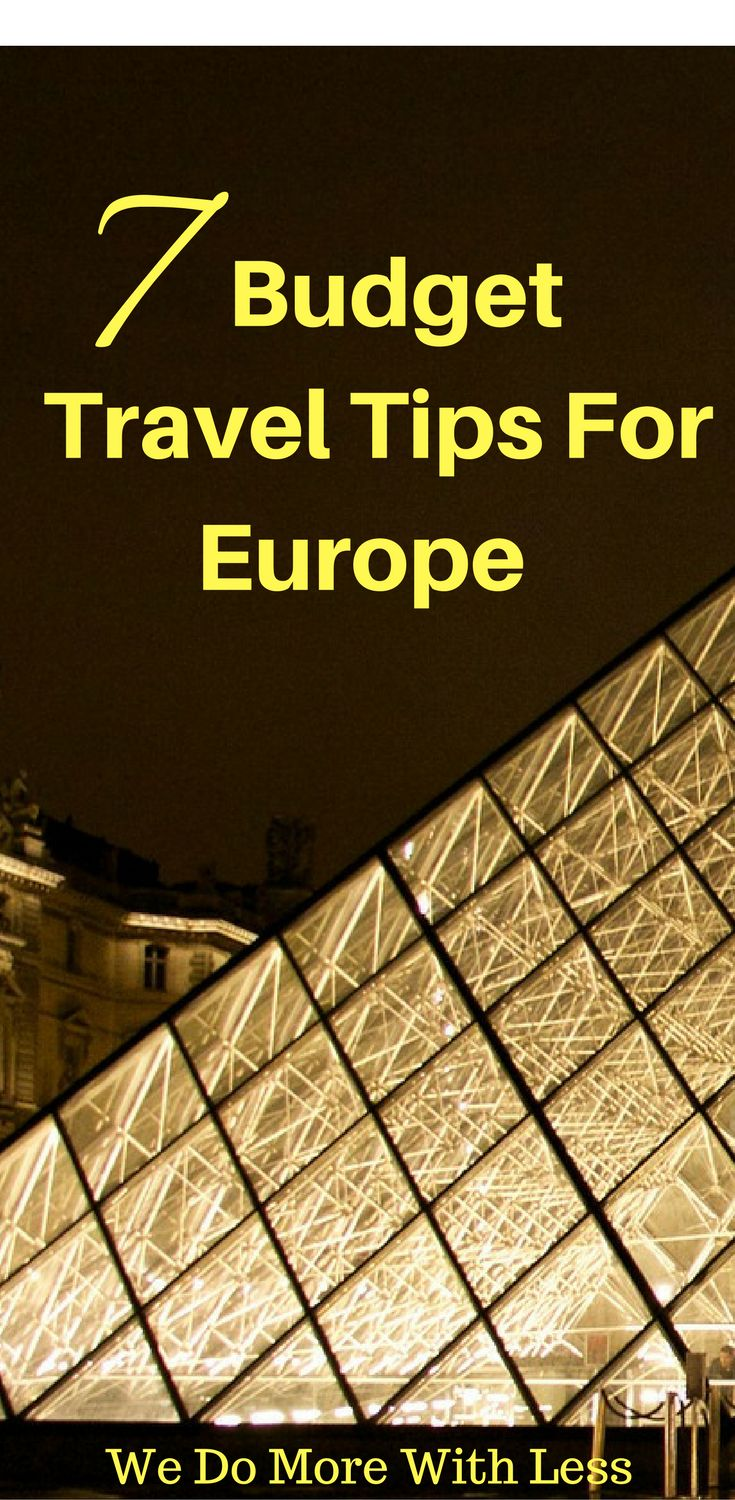 how to travel europe on a budget