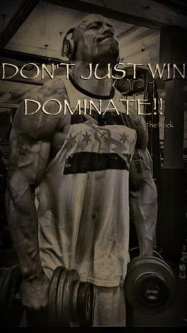 Don't Just Win - Dominate!