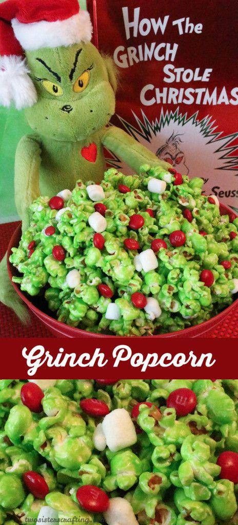Grinch-mas Popcorn