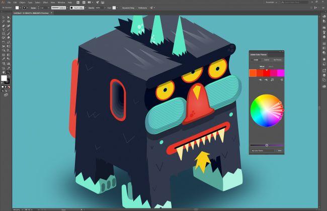10 tools to make illustration easier in 2018 | Creative Bloq - Adobe Illustrator CC 22.0