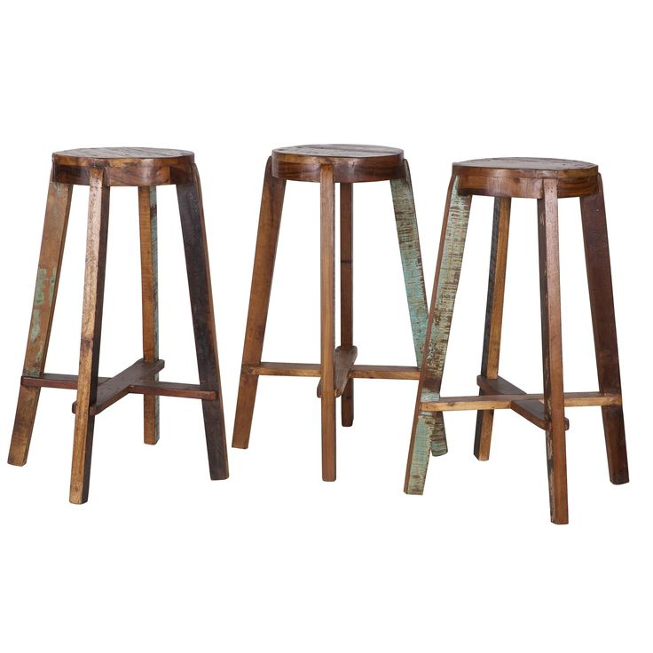 De Woood Inca Barkruk is een prachtige en stevige barkruk, gemaakt van een mix van gebruikt hout. Hierdoor krijgt hij een mooie, vintage look. Een perfect zitmeubel voor wie een hoge tafel of een bar heeft. De kruk heeft een hoogte van 76 centimeter.