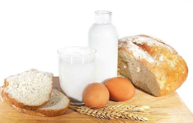 Chleb, Jajka, Mleko
