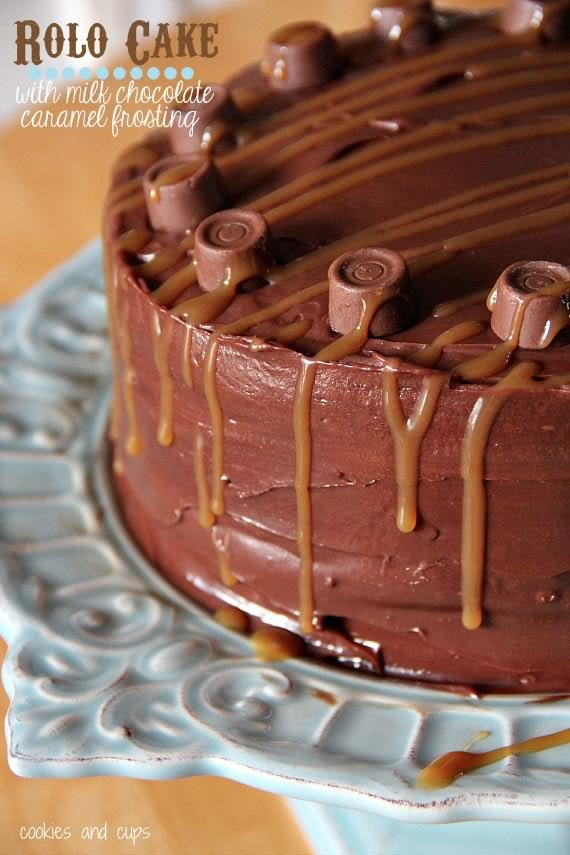 Check out Milk Chocolate Caramel Frosting. It's so easy to ...