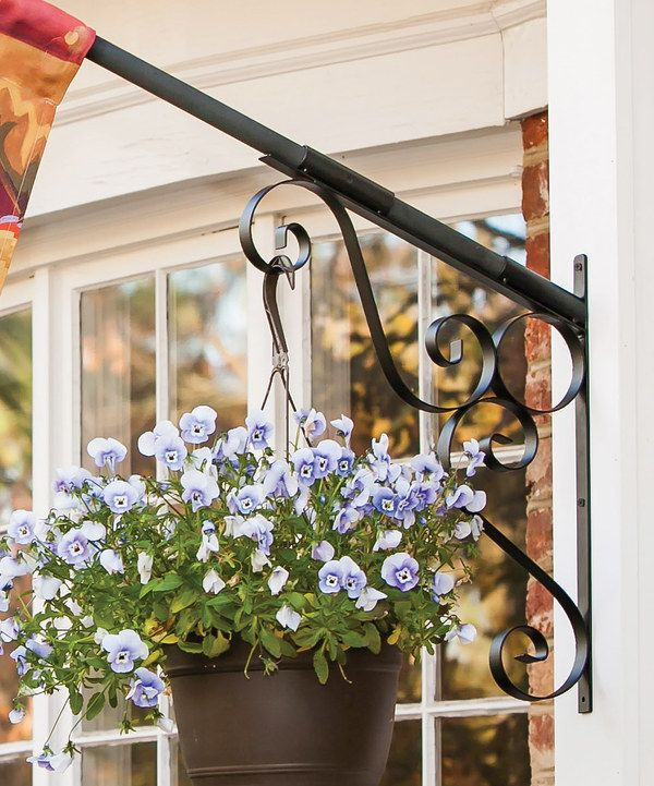 Take a look at this Scroll Planter Flag Pole Bracket on zulily today!