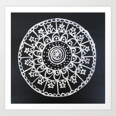 Medallion No. 5 Art Print by Patti Friday - $20.80
