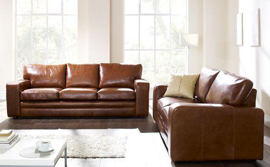 The Bronx Leather Sofa