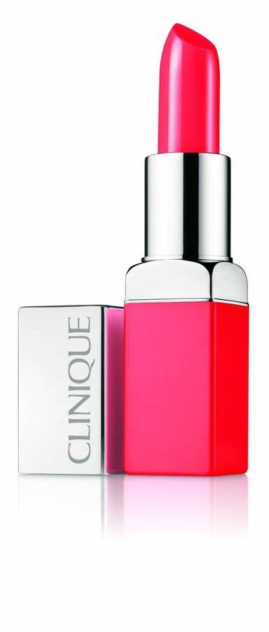 Le meilleur rouge à lèvres : Clinique Pop Rouge Intense + Base Lissante, Clinique