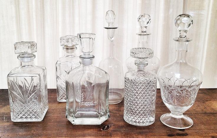 Bottles for liquors