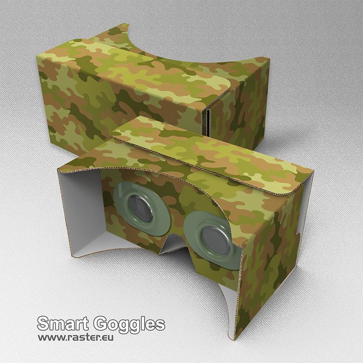 Smart Goggles (pattern 003) #VirtualReality #AugmentedReality #Cardboard #VR #AR #Advertising #Marketing