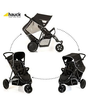 Hauck Freerider Tandem Pushchair - Black