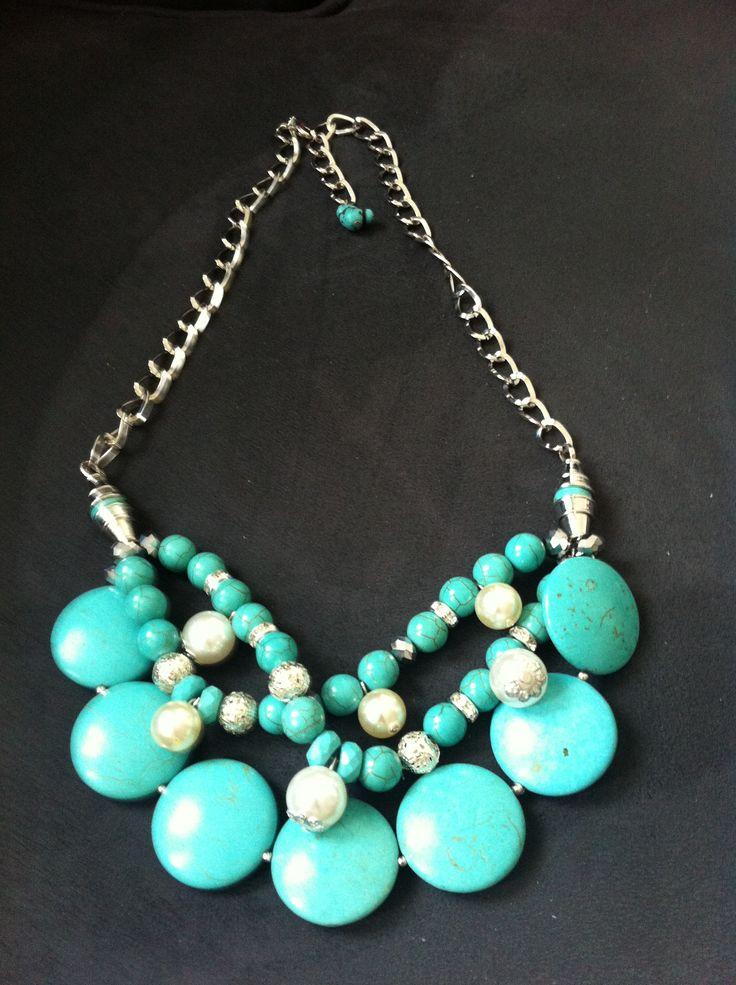 Handmade necklace - oriental design