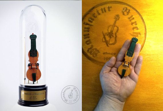 Handmade miniature instrument  Suka  Polish by ManufacturBurchardt