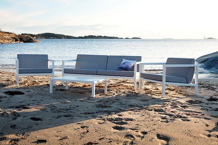 Sundays Frame sofagruppe #hage #uterom #utemøbler #norskdesign #sundays #sundaysdesign #hagemøbler