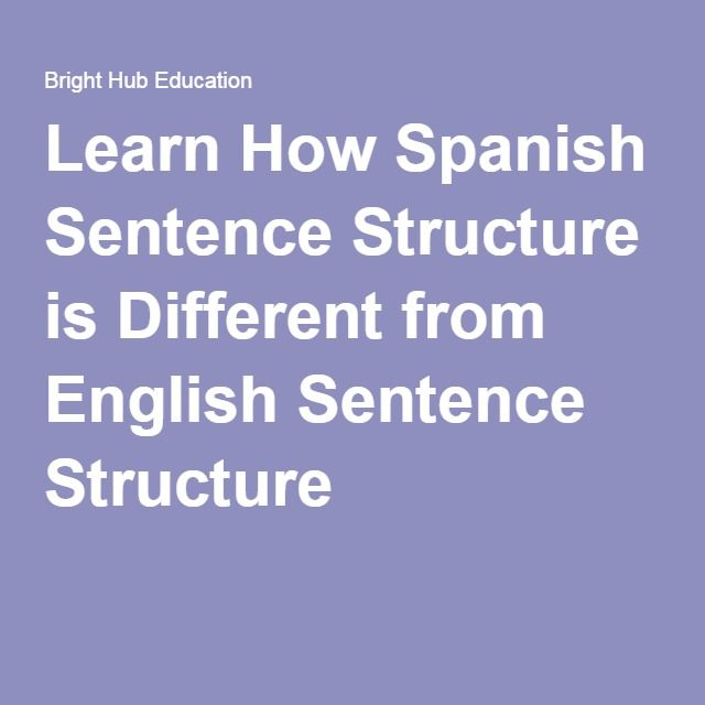 spanish structure Structure translations: estructura, estructura, estructurar learn more in the cambridge english-spanish dictionary.