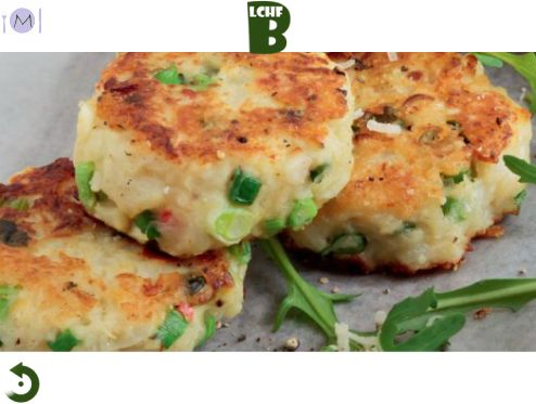 Cauli Fritters with Cheese & Chilli - A3Recipes.com