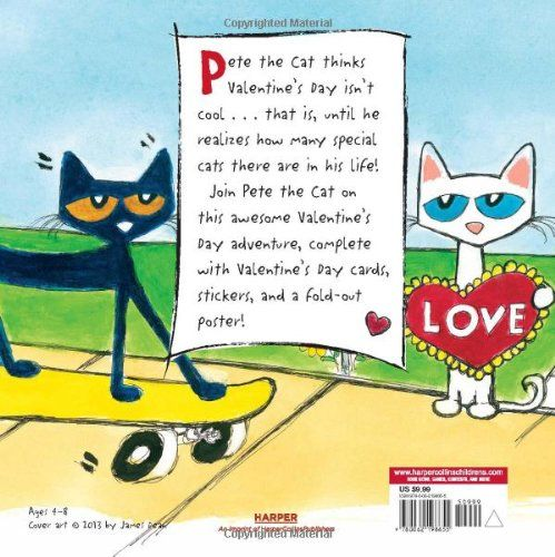 pete the cat valentine's day youtube