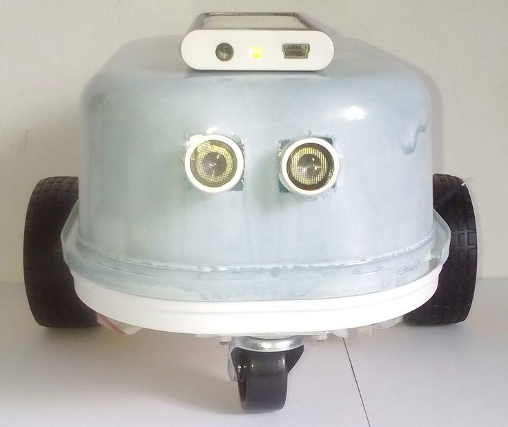Descubriendo el mundo de la robótica educativa: SUNBOTCAR, un coche robot controlado por bluethooth a energía solar
