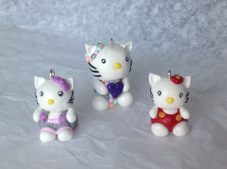 Fimo hello kitty