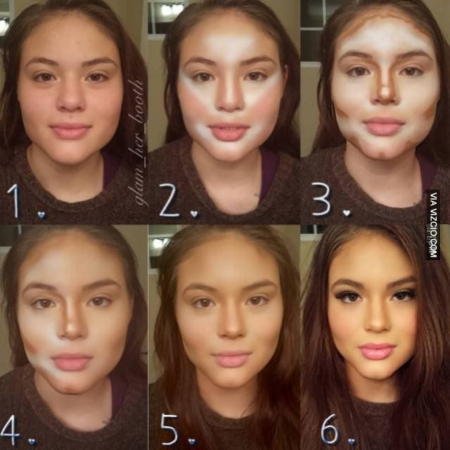 How do u feel without all that make up though? Looks like 2 different ppl.