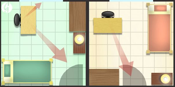 69 best images about feng shui on pinterest layout for Best office arrangement