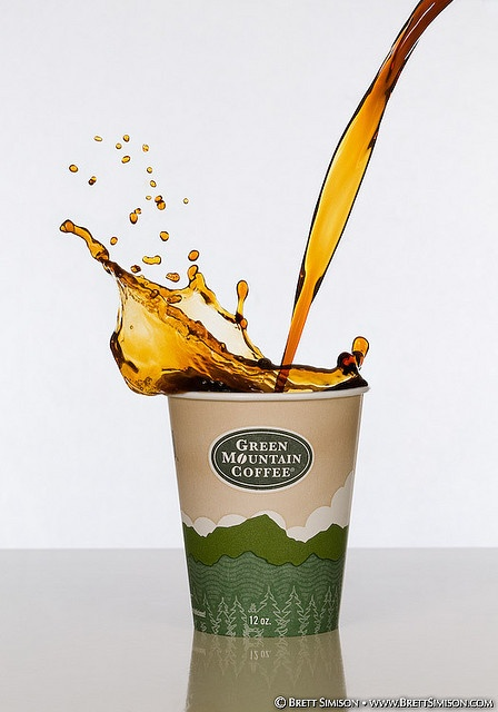 What a cool picture, featuring #greenmountaincoffee @Green Mountain Coffee