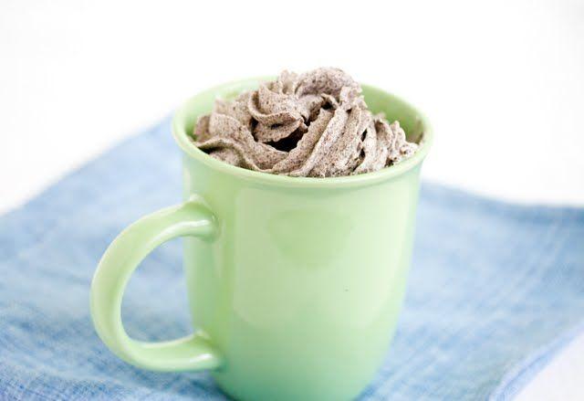 Cookies and Cream Mug Cake | Kirbie's Cravings | A San Diego food blog